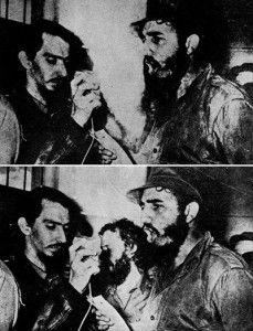 En esta imagen de Fidel Castro no debía aparecer Carlos Franqui, escritor, poeta y periodista que dirigió el diario 'Revolución' pero se opuso a la invasión de Checoslovaquia por parte de Rusia. Esto le distanció del régimen y se exilió en 1968