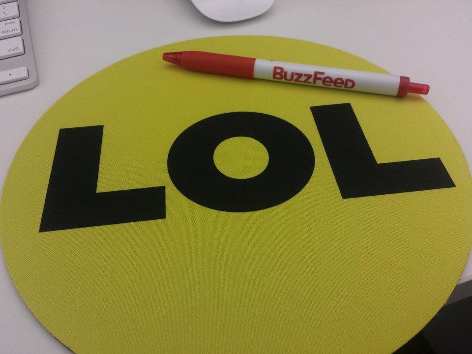 LOL, una de las expresiones que ha popularizado Buzzfeed en sus contenidos