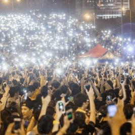 Cobertura móvil en manifestaciones