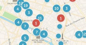 Periscopes activos en las calles de París