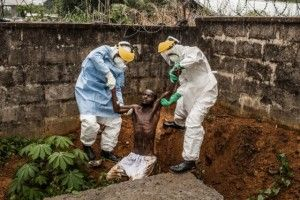 Ebola in Sierra Leone. Foto: Pete Muller