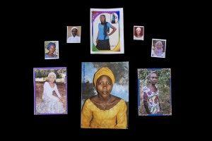 Retratos de las niñas secuestradas por Boko Haram en Nigeria. Mass Abduction in Nigeria. Foto. Glenna Gordon