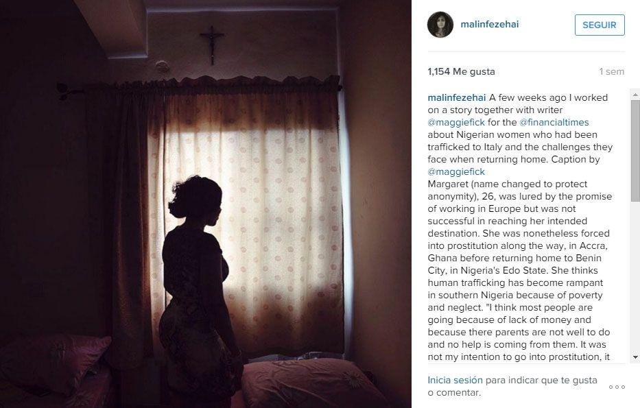 Instagram @malinfezehai