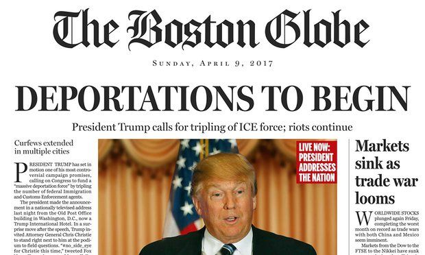 The Boston Globe 2017