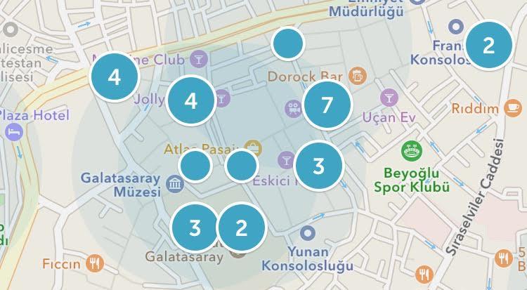 Periscope en calle Istiklal de Estambul