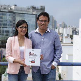 Fabiola Torres y David Hidalgo. FOTO: OjoPublico-AudreyCordova