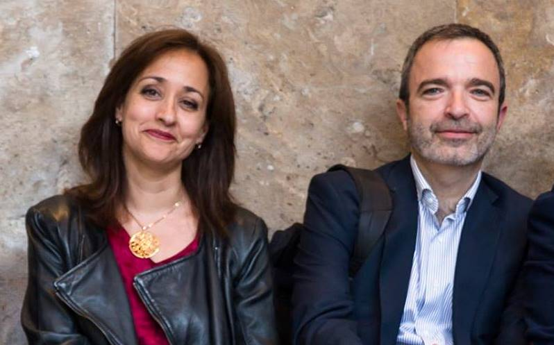 Beatriz Gallardo y Salvador Enguix