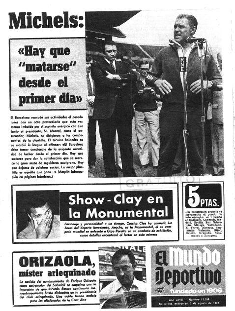 Combate Ali 1972