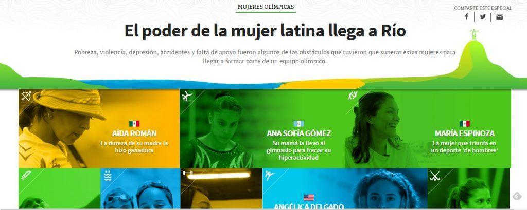 El poder de la mujer latina llega a Río 2016