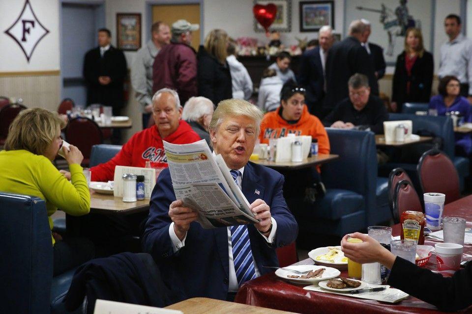 Donald Trump y los medios de comunicación