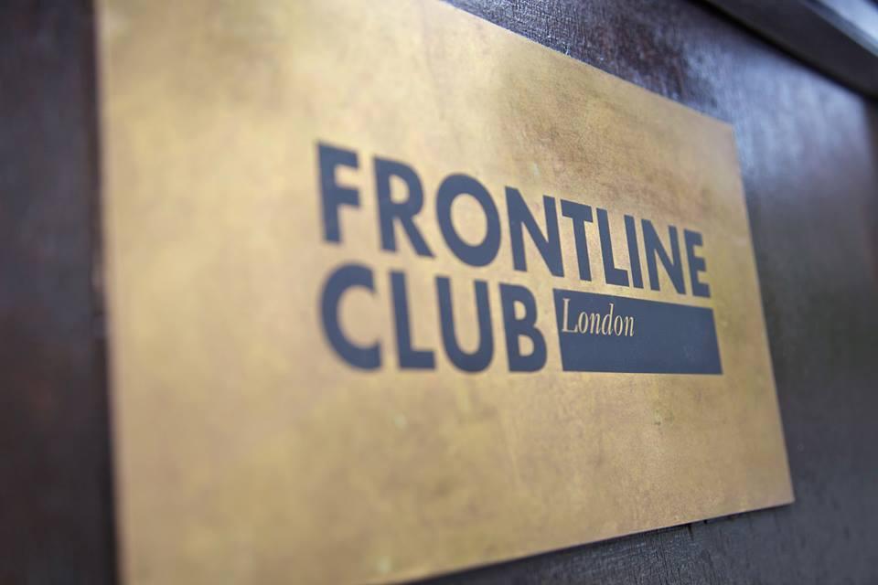 Frontline Club hogar periodistas Londres Laura Bellver