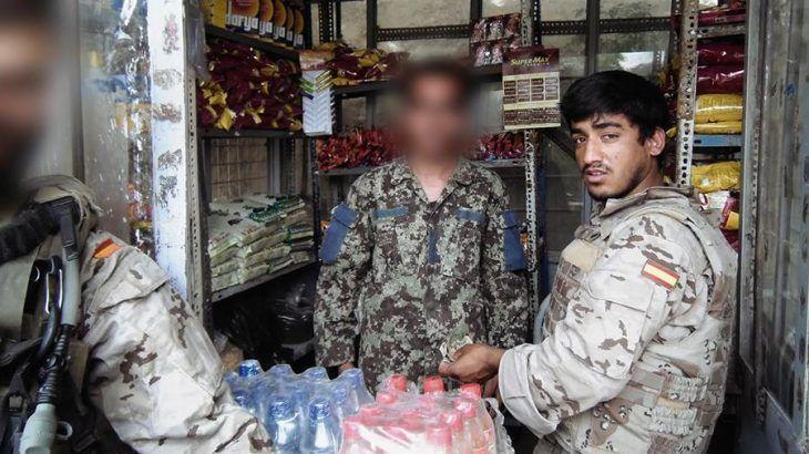 Intérpretes afganos