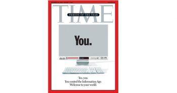 Portada de la revista Time, designando como personaje del año 2006 al usuario de internet. Un ecosistema de medios, como todo sistema, depende de la confianza y credibilidad de quienes interactúan en él.