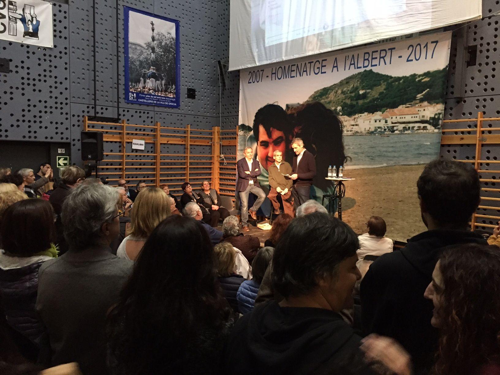 Acte d'Homenatge a Albert Musons el 16 de desembre de 2017