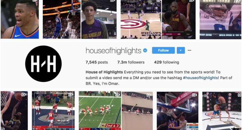 House of Highlights en Instagram