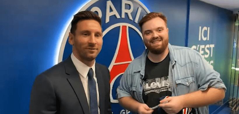 Leo Messi e Ibai Llanos